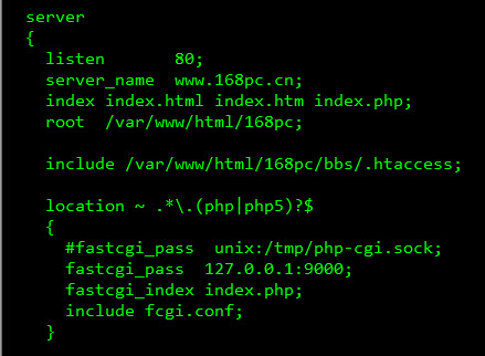 Linux下nginx支持.htaccess文件实现伪静态的方法! - 第1张  | 大博辞