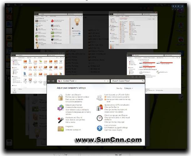 高仿Ubuntu的一款win7主题 - 第2张  | 大博辞