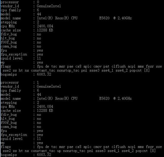 常用的VPS性能检测命令 - 第2张  | 大博辞