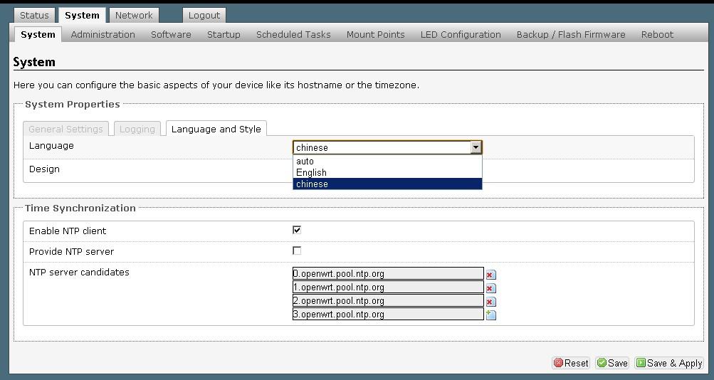 TP-LINK WR703N把OpenWrt语言改为中文教程 - 第1张  | 大博辞