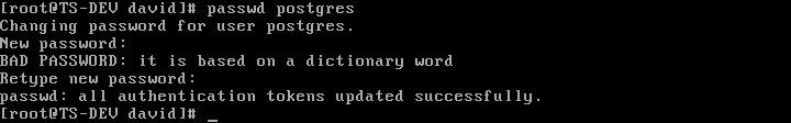 CentOS 6.3下PostgreSQL 的安装与配置 - 第11张  | 大博辞
