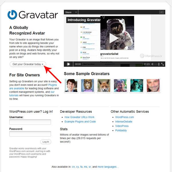 玩转你的Gravatar全球通用头像 - 第1张  | 大博辞