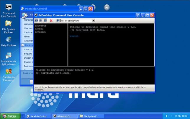IndraDesktop--强大的WEBOS - 第1张  | 大博辞