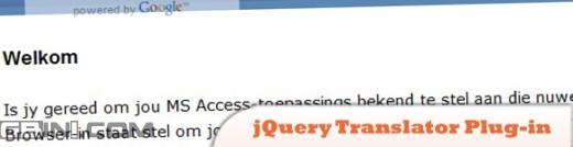 制作多语言网站的朋友有福了 分享10个jQuery的语言翻译插件