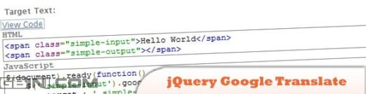 分享10个jQuery的语言翻译插件