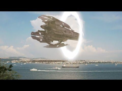 2016年土耳其海上出现一艘UFO母舰